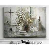 Daisy Still Life - Premium Gallery Wrapped Canvas