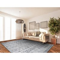 Couristan Marina Grisaille Pearl-Champagne Area Rug - 6'6 x 9'6