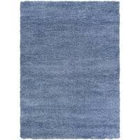 Ananda Waves/Blue Area Rug - 6'6 x 9'6