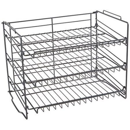 W Unlimited Iron Wire Storage Rack (Chrome)