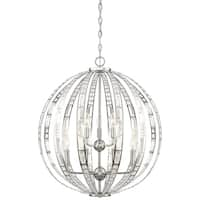 Minka Lavery Palermo Pendant In Chrome