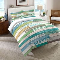 Laural Home Rules of the Ocean Comforter