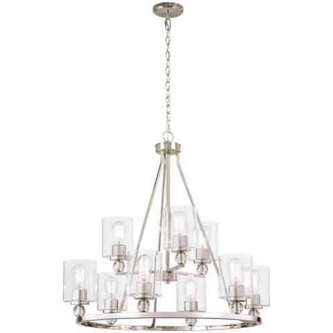 Minka Lavery Studio 5 Chandelier in Polished Nickel - N/A