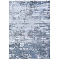 "Namaste Whisper/Grey-Opal Area Rug (9'2 x 12'9) - 9'2"" x 12'9"""