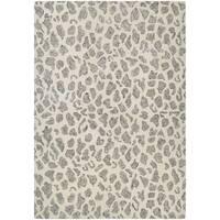 Barlow Stones/Natural Wool Area Rug - 9'6 x 13'