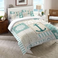 Laural Home Coastal Patterns Comforter