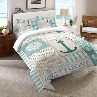 Laural Home Coastal Patterns Comforter