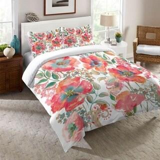 Laural Home Boho Florals Comforter
