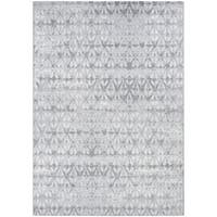 """Couristan Marina Grisaille Pearl-Champagne Runner Rug - 2'2"""" x 7'10"""""""