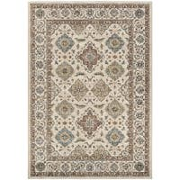 "Sovereign Bursa Beige/Mocha Area Rug - 5'3"" x 7'6"""