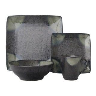 Sango Allusion Black Stoneware 16-piece Dinnerware Set  sc 1 st  Overstock & Stoneware Sango Dinnerware | Find Great Kitchen u0026 Dining Deals ...