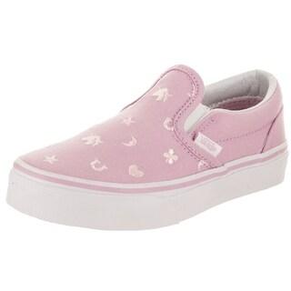 Vans Kids Classic Slip-On (Charms) Skate Shoe