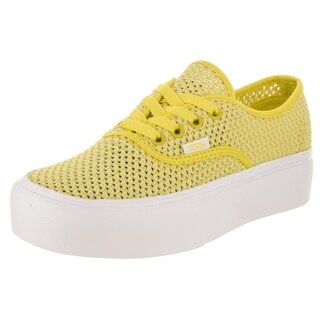 Vans Unisex Authentic Platform (Summer Mesh) Skate Shoe (More options available)