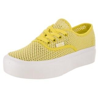 Vans Unisex Authentic Platform (Summer Mesh) Skate Shoe
