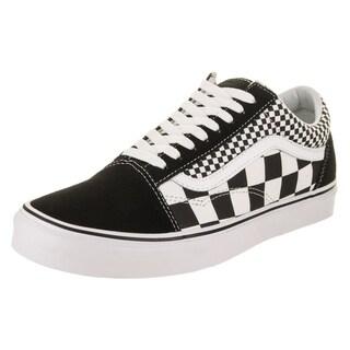 Vans Unisex Old Skool (Mix Checker) Skate Shoe