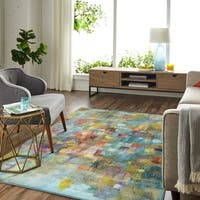 Palm Canyon Bimini Confetti Canvas Area Rug - 8' x 10'