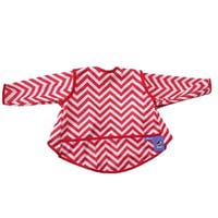 Long Sleeved Bibs Waterproof Bibs  With Pocket for Infant And Toddler