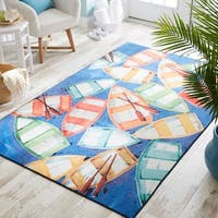 Mohawk Home Prismatic Rowboat Rendezvous Area Rug - 8' x 10'