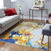 Palm Canyon Shirley Floral Winds Area Rug - 5' x 8'
