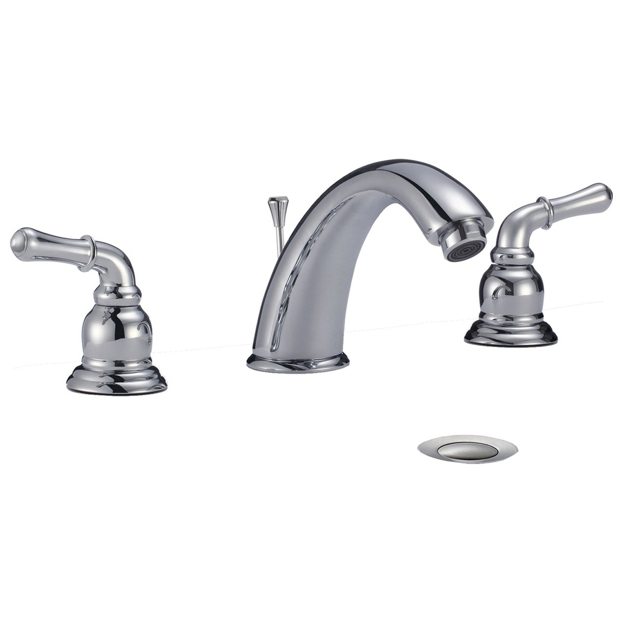 dionna widespread 3-hole bathroom sink faucet with lever handles