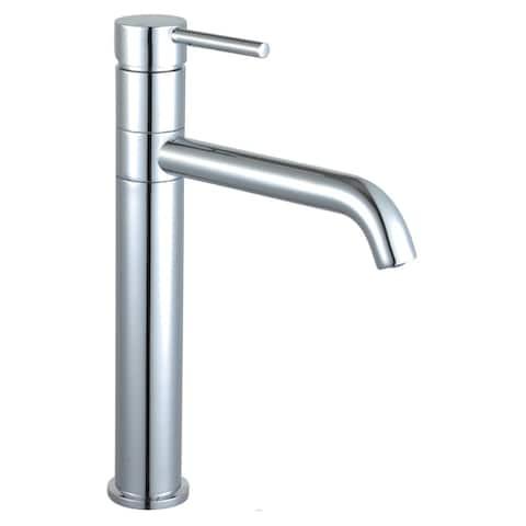 "Kaia 12"" Single Hole Vessel Sink Bathroom Faucet with Swivel Spout"