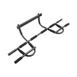 ProSource Multi-Grip Chin-Up Pull-Up Push Up Bar Heavy Duty Doorway Trainer for Home Gym for P90X