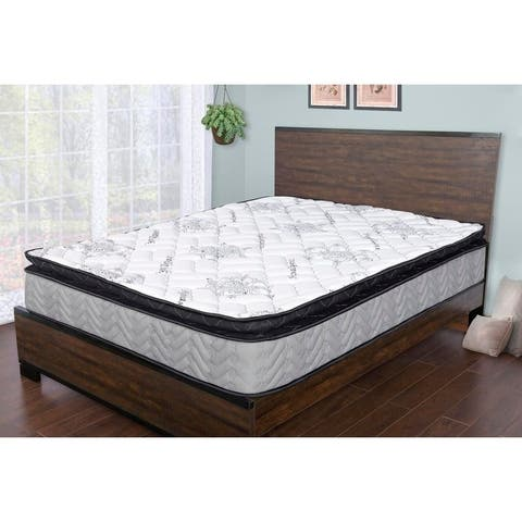 Sleep Therapy Comfort Sleep Pillow-top Mattress , Queen