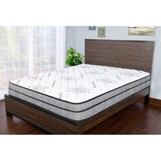 Sleep Therapy Signature Medium Firm Euro-Top Qulited Mattress, Queen