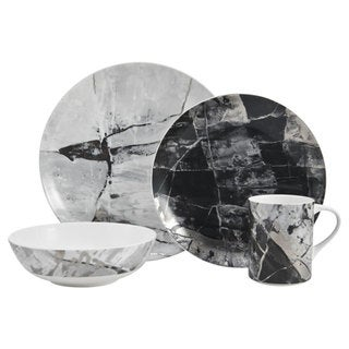 Mikasa Aiden Platinum 4 Piece Place Setting