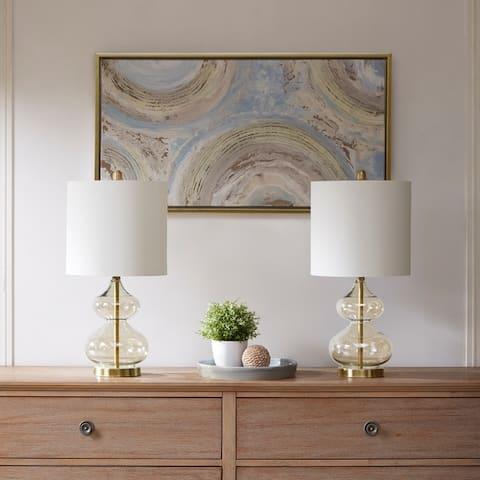 510 Design Ellipse Gold Table Lamp (Set of 2)