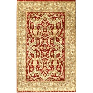 Pasargad DC Indo Hand-Knotted Tabriz Area Rug