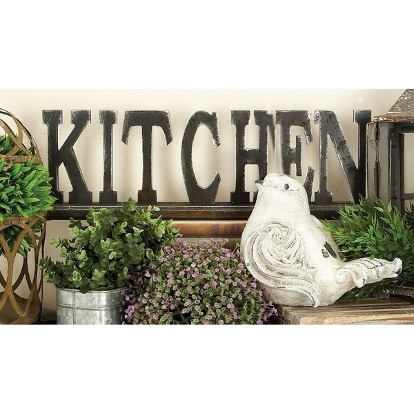 Copper Grove Chatfield Wood Kitchen Table Sign