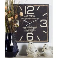 The Gray Barn Wild Cherry Wood Wall Clock