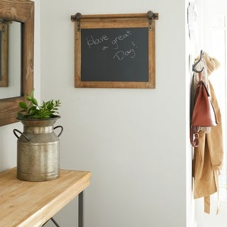 The Gray Barn Hogback Wood Metal Chalkboard 21 inches wide, 17 inches high