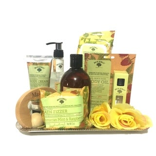 Healing Thoughts Bliss Spa Basket