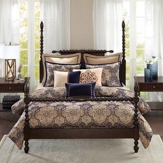 Madison Park Signature Wellington Blue Comforter Set