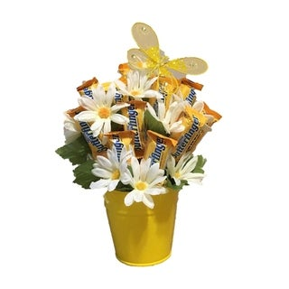 Spring Time Butterfinger Candy Bouquet