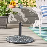 Wayne Outdoor 57-pound Concrete Circular Umbrella Base by Christopher Knight Home