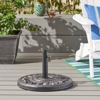 Dewey Outdoor 44lb Concrete Circular Umbrella Base by Christopher Knight Home