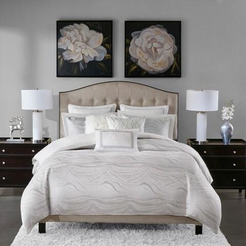 Madison Park Signature Hollywood Glam White Comforter Set