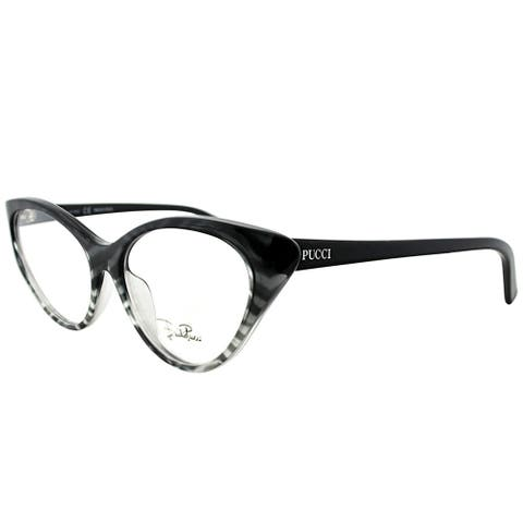 Emilio Pucci Cat-Eye EP 2671 006 Women Zebra on Faded Grey Frame Eyeglasses