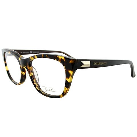 Emilio Pucci Rectangle EP 2708 215 Women Tortoise Frame Eyeglasses