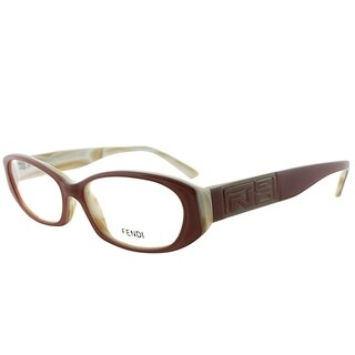Fendi Oval FE 807 687 Women Antique Rose Frame Eyeglasses