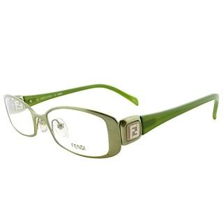 Fendi Rectangle FE 901 317 Women Gold Frame Eyeglasses