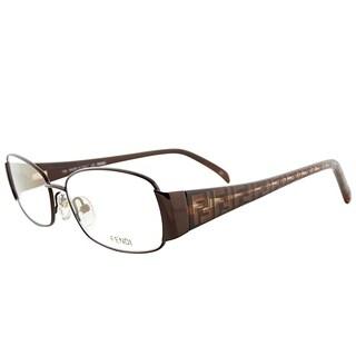 Fendi Rectangle FE 937 210 Women Bronze Frame Eyeglasses