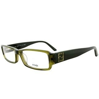 Fendi Rectangle FE 934R 318 Women Olive Green Frame Eyeglasses