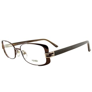 Fendi Rectangle FE 944 208 Women Brown Mocha Frame Eyeglasses