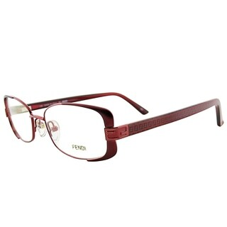 Fendi Rectangle FE 944 603 Women Red Frame Eyeglasses