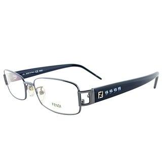 Fendi Rectangle FE 941R 442 Women Gunmetal Frame Eyeglasses