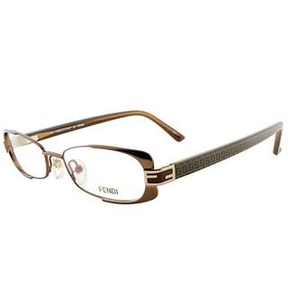 Fendi Rectangle FE 943 208 Women Bronze Frame Eyeglasses